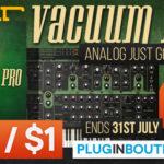 [DTMスクールニュース]Air Music Techの「Vacuum Pro」も111円!?