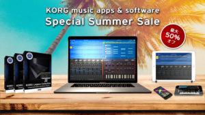 [DTMスクールニュース]korg-special-summer-sale