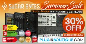 [DTMスクールニュース]sugar-bytes-plugin-sale