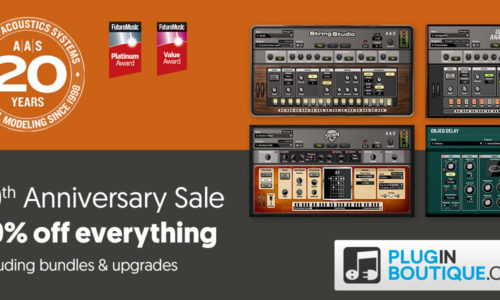 [DTMスクールニュース]applied-acoustics-systems-20th-anniversary-sale