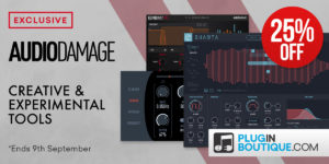 [DTMスクールニュース]audio-damage-plugin-26off