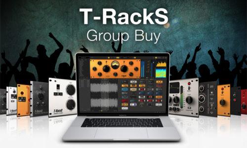 [DTMスクールニュース]ik-multimedia-t-racks-group-buy