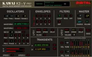 [DTMスクールニュース]digital-systemtic-emulations-kawai-k3-v