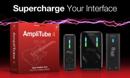 [DTMスクールニュース]ik-multimedia-irig-amplitube4-deluxe