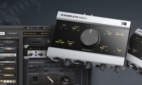 [DTMスクールニュース]komplete-audio-6-guitar-rig-5-pro-present