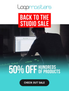 [DTMスクールニュース]loopmasters-back-to-the-studio-sale