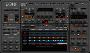 [DTMスクールニュース]synthesizer-audiaire-zone-release