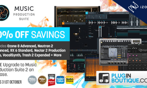 [DTMスクールニュース]izotope-music-production-suite-2-presale