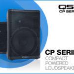 [DTMスクールニュース]QSCのスピーカー「CP12」「CP8」が発売!