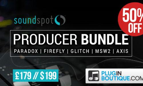 [DTMスクールニュース]soundspot-producer-bundle-sale