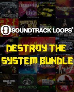 [DTMスクールニュース]soundtrack-loopsdestroy-the-system-bundl-sale