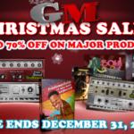 [DTMニュース]Gospel Musiciansが最大70%offのセール「Christmas Sale」を開催中!