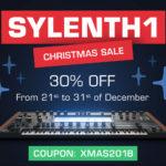 [DTMニュース]Lennar Digitalのシンセサイザー「Sylenth1」が30%offのクリスマスセール価格で登場!