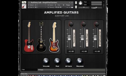[DTMニュース]amplified-guitars-release