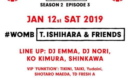 [イベント情報]clubberia-saturday-party-20190112