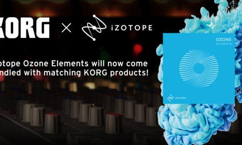 [DTMニュース]korg-ozone-campaign-2019