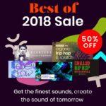 [DTMニュース]Loopmastersが2018年に人気のあったサンプルパックを半額で購入できるセール「BEST OF 2018 SALE」を開催中!