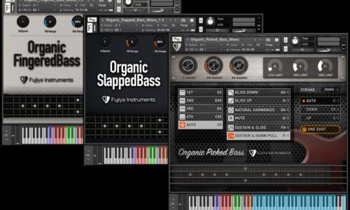 [DTMニュース]organic-bass-suite-release