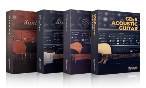 [DTMニュース]acousticsamples-guitar-bundle-sale-2019