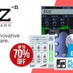 [DTMニュース]Boz Digital Labsのプラグイン各種が最大70%offのセール価格で販売中!