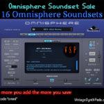[DTMニュース]Vintage Synth Padの「Omnisphere」用サウンドパックがセール価格で販売中!
