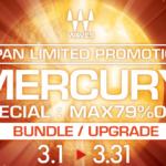[DTMニュース]Wavesのプラグインのほぼ全てを網羅した「Mercury」が日本限定のセール!