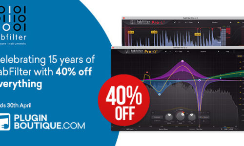 [DTMニュース]fabfilter-15th-anniversary-sale
