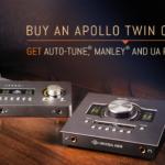 [DTMニュース]Universal Audioのオーディオインターフェイス購入でボーカルプラグインを無償提供する「Desktop Platinum Vocal Promotion」開始!
