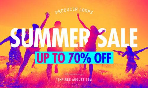 [DTMニュース]producer-loops-summer-sale-2019