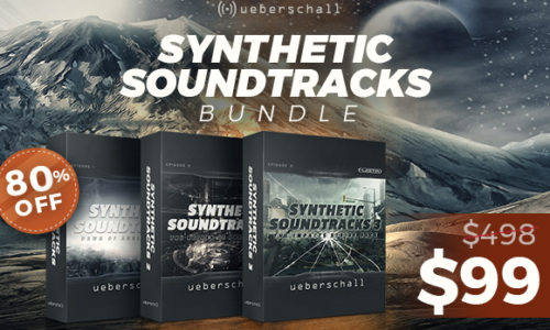 [DTMニュース]ueberschall-synthetic-soundtracks-sale-580x400