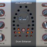 [DTMニュース]Audifiedのドラムプロセッシングツール「DW Drum Enhancer」が60%offのセール価格で登場!