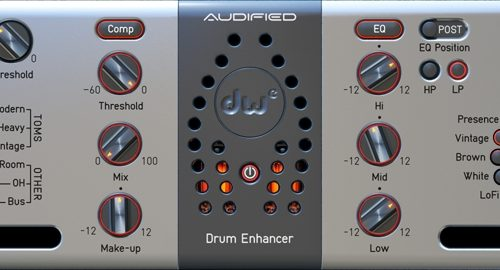 [DTMニュース]audified-dw-drum-enhancer-1
