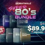 [DTMニュース]BEATSKILLZの7種のインストゥルメントを収録した「Super 80's Bundle」が78%offのセール価格で販売中!