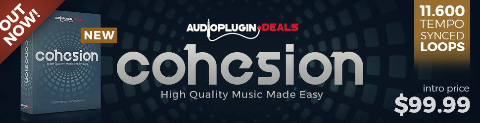 [DTMニュース]audio-plugin-deals-cohesion-970x250