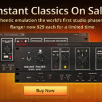 [DTMニュース]Eventide「Instant Flanger Mk II」「Instant Phaser Mk II」がフラッシュセールで77%off!