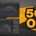 [DTMニュース]KiloHeartsの「Carve EQ」「Slice EQ」がセットになった「Equalizers Bundle」が50%off!