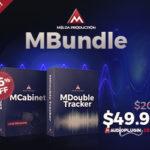 [DTMニュース]MeldaProductionの「MCabinet」と「MDoubleTracker」が収録された「MBundle」が76%offで販売中!