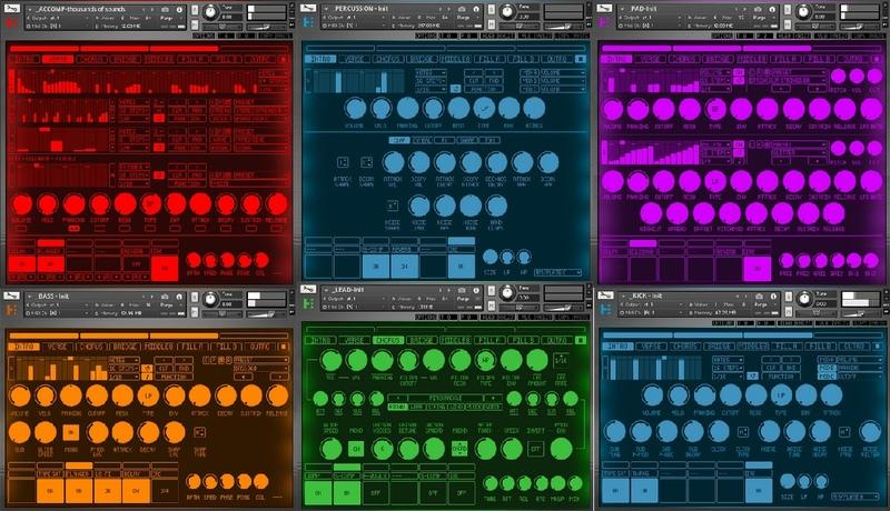 [DTMニュース]rigid-audio-kontakt-instrument-bundle-1
