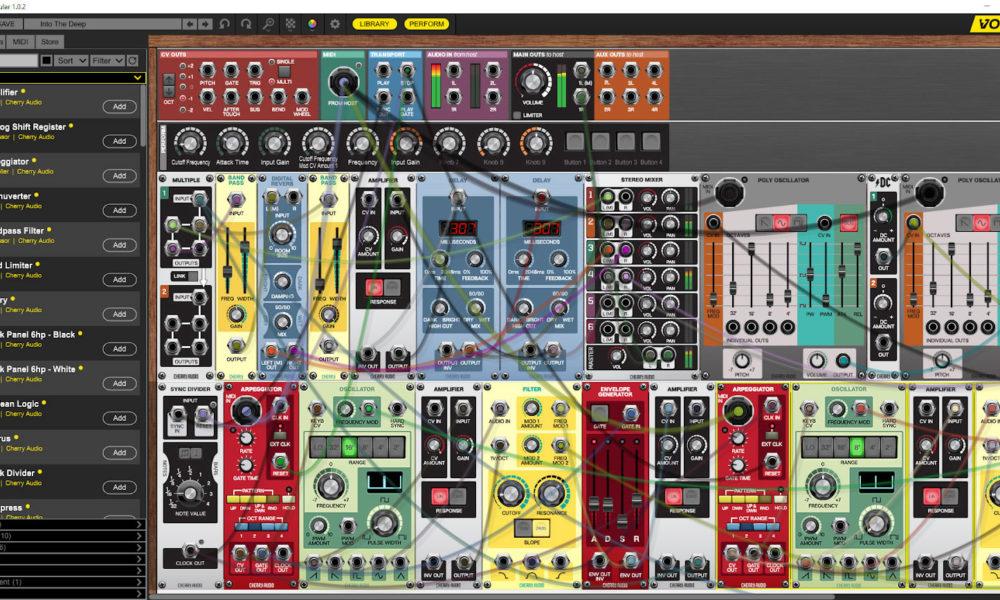 [DTMニュース]cherry-audio-voltage-modular-1
