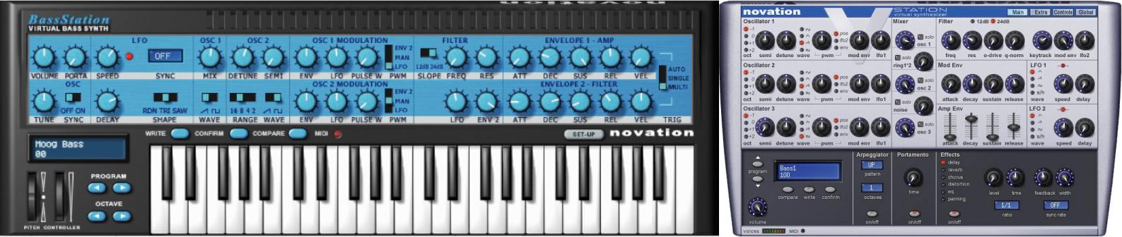 [DTMニュース]novation-bass-station-v-station