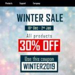 [DTMニュース]D16 Group「Winter Sale」を開催中!「D16 Group Total Bundle」を含む全プラグインが最大31%off!