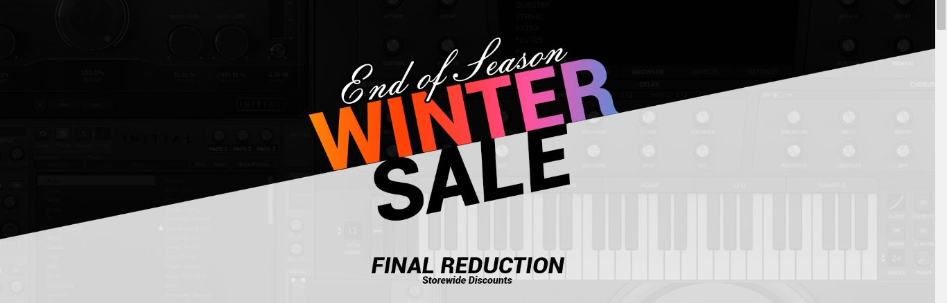 [DTMニュース]initial-audio-end-of-year-sale-1