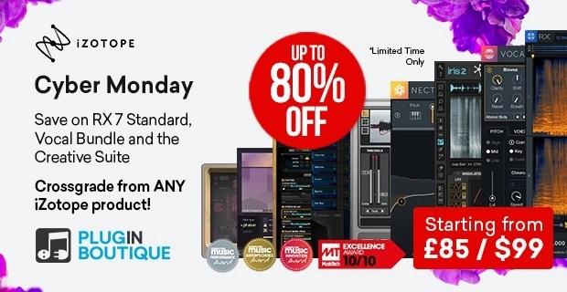 [DTMニュース]izotope-cyber-monday-sale-2