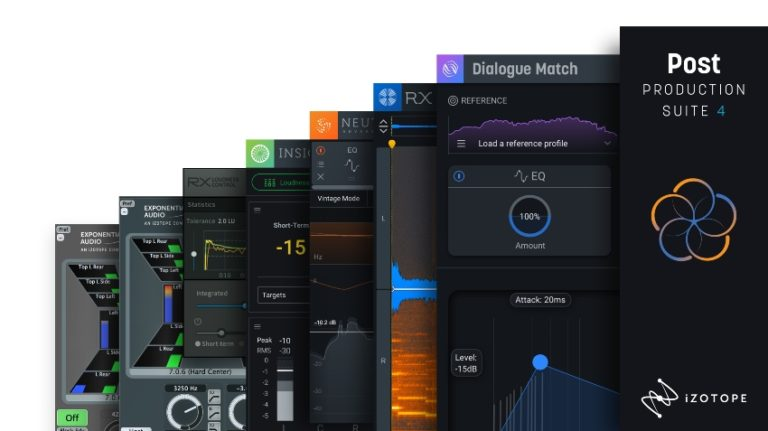 [DTMニュース]izotope-rx-post-production-suite-4-2
