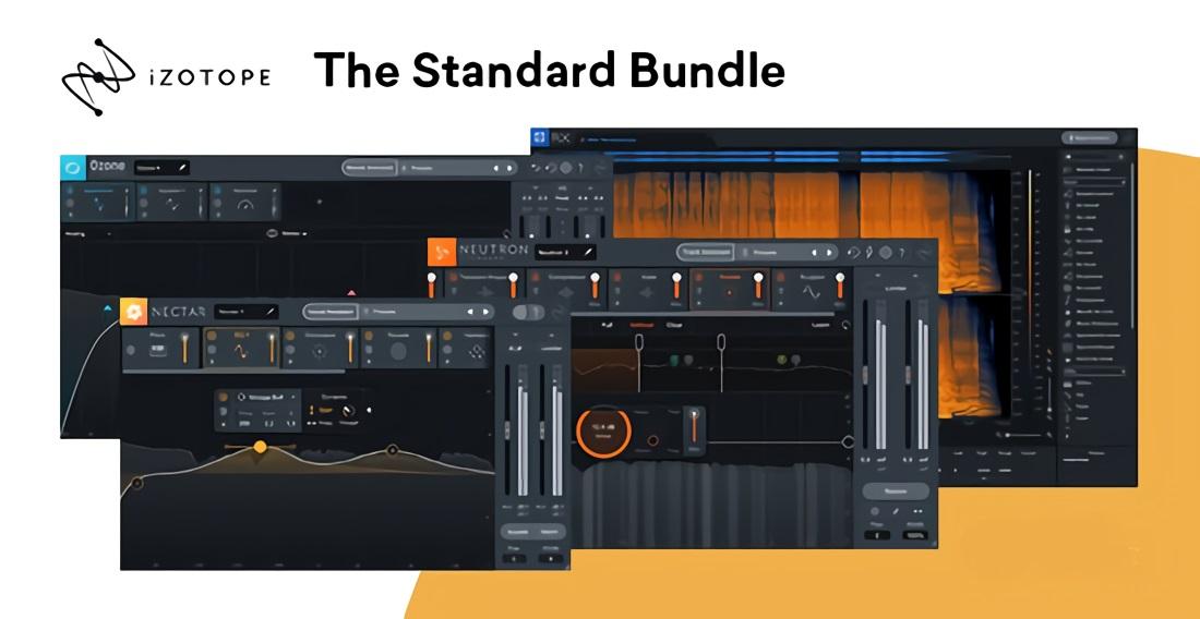 [DTMニュース]izotope-the-standard-bundle