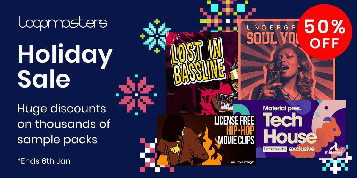 [DTMニュース]loopmasters-holiday-sale-2019-1