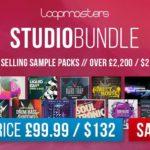 [DTMニュース]Loopmastersの86種類のサウンドパックを収録したビッグバンドル「Studio Bundle」が驚異の95%off!