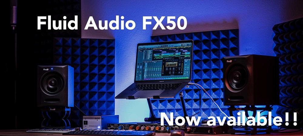 [DTMニュース]fluid-audio-fx50-fx80