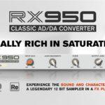 [DTMニュース]Akai「S950」のAD/DAコンバートをエミュレートしたInphonik「RX950 Classic AD/DA Converter」が23%off!