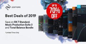 [DTMニュース]izotope-best-deals-of-2019-2